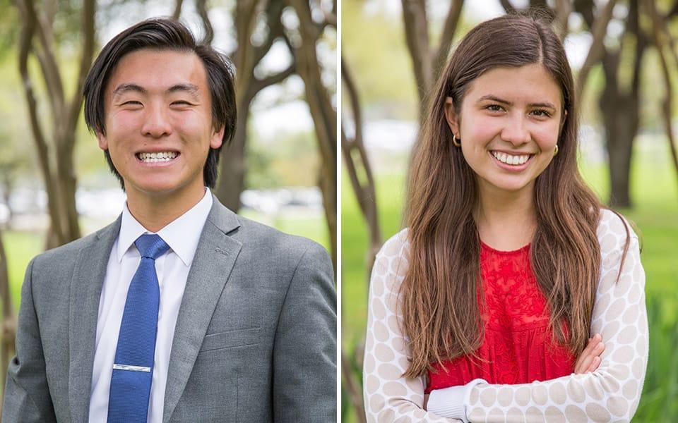 Eric Chen and Carla Ramazan